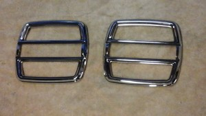 '68-'69 NOS Torino fastback tail light bezels