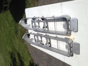 NOS 71 Torino GT split grill housing pair