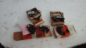 68-71  NOS Torino neutral safety switch for column shift car and console shift cars