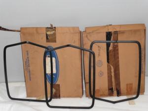 70-71 NOS shaker trim rings in box
