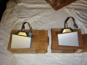 NOS 70 Torino pair of parking light assemblies