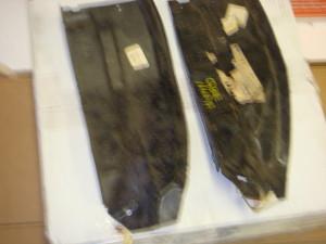 NOS 68-69 Torino pair of fender splash sheilds