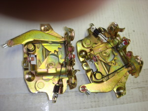 68-69 Torino door latch assembly
