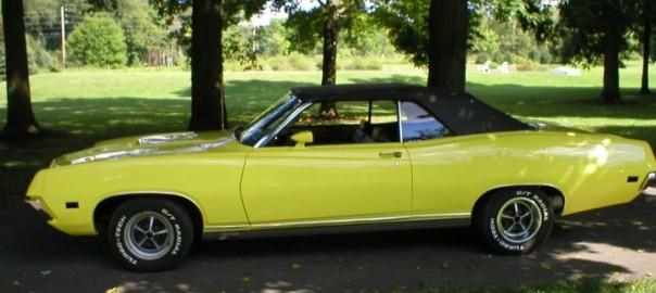 Larry Buntman's '71 Torino Convertible GT