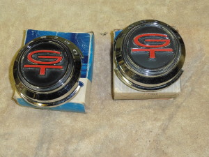 '68 Torino Fast Back tail light panel GT emblem