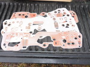 1968-'69  Torino tach instrument cluster printed tach circuit board