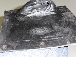 1968-71 torino and cyclone console shifter boot auto new