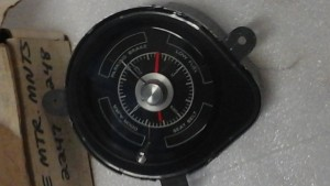 1968 Torino dash clock this is a convenient group clock RARE (close up)