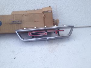 68 Torino GT NOS grille emblem
