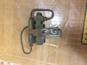 68 and 69 disk brake control valve