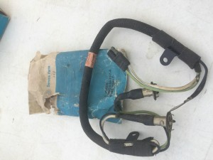 NOS hood scoop wiring harness 1969 Torino  Super Rare